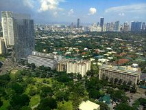 Makati miasto, Philippines, Asia Zdjęcie Stock