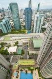 Makati's towering condominium Stock Image