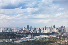 Makati skyline Royalty Free Stock Image