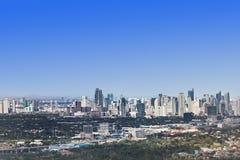Makati skyline Royalty Free Stock Image