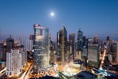 Makati Skyline, Manila, Philippines. Stock Photos