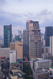 Makati Skyline, Philippines Royalty Free Stock Images