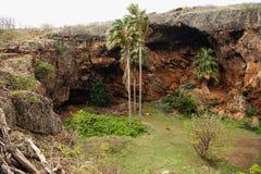 Makauwahi洞 库存照片