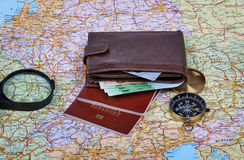 Make Arrangements To Travel Stock Photography