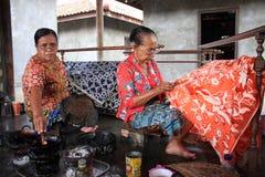 Make batik Stock Photography