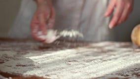 Make bread stock video footage