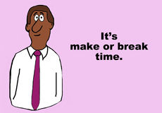 Make or Break Time Stock Photos