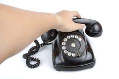 Make a call Royalty Free Stock Photos