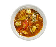 Make conch soup Royalty Free Stock Images
