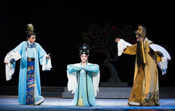 "Make a confession-Royal Garden-Jiangxi opera ""Red pearl"" Stock Image"