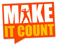 Make it count Stock Images