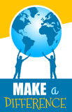 Make a difference Stock Image