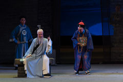 """Make fun of local officials-Shanxi Operatic""""Fu Shan to Beijing"""" Stock Photography"""