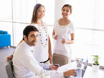 We make a great team together Royalty Free Stock Photo