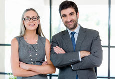 We make a great team together Royalty Free Stock Photography