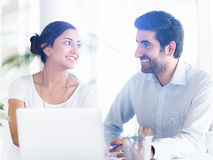We make a great team together Royalty Free Stock Images