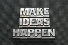 Free Make Ideas Happen Bm Stock Image - 82235671