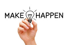 Make Ideas Happen Concept Stock Images