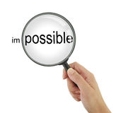 Make the impossible possible! Stock Images