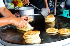 Make Indian Food. Royalty Free Stock Photo