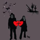 Make Love, No War, 2 Royalty Free Stock Photo