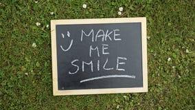 Make me smile Royalty Free Stock Photos