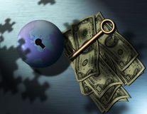 Make Money Royalty Free Stock Photos