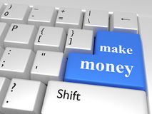 Make money concept Stock Image