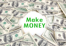 Make Money Royalty Free Stock Photo