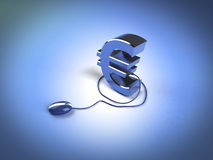 Make money online Stock Images