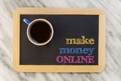 Make money online Stock Photo