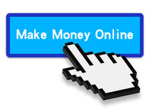 Make money online Stock Photography