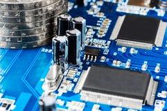 Make Money Using Computer Royalty Free Stock Photos