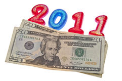 Make More Money in 2011 Royalty Free Stock Photos