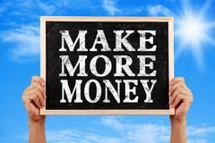 Make More Money Royalty Free Stock Photos
