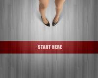 Make next step Royalty Free Stock Photos
