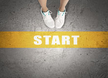 Make next step Royalty Free Stock Images