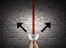 Make next step Royalty Free Stock Image