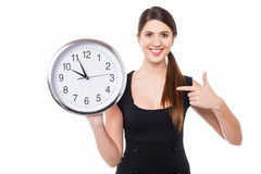 Make note of the time, please! Stock Photos