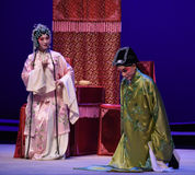 "Make an offer of marriage-Kunqu Opera ""the West Chamber"" Royalty Free Stock Photos"