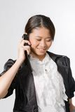 Make a phone call Royalty Free Stock Images