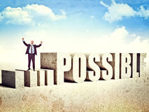 Make it possible royalty free stock photos