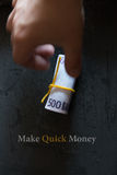 Make Quick Money. royalty free stock images