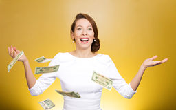 Make it rain Royalty Free Stock Photos