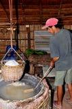 Make salt Stock Image