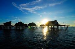 Make-shifts dos ciganos do mar Foto de Stock Royalty Free