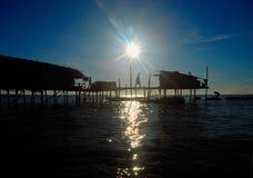 Make-shifts dos ciganos do mar Fotos de Stock Royalty Free
