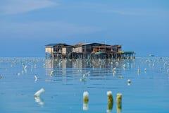 Make-shifts dos ciganos do mar fotografia de stock royalty free