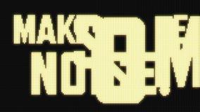 Free Make Some Noise! On Jumbotron LED Screen Stock Photos - 47042963