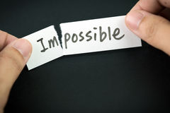 Make thing possible Stock Images